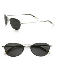 Oliver Peoples - Aero 57 Aviator Sunglasses