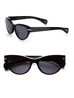Oliver Peoples - Kosslyn Cat's-Eye Plastic Sunglasses/Black