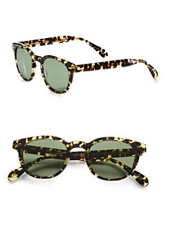 Oliver Peoples - Sheldrake Retro Plastic Sunglasses