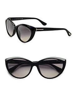 Tom Ford Eyewear - Martina Classic Cat's-Eye Sunglasses