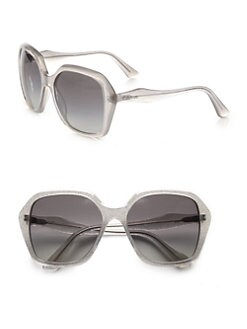 Miu Miu - Square Plastic Sunglasses