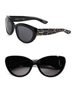 Saint Laurent - Panther Plastic Cat's-Eye Sunglasses