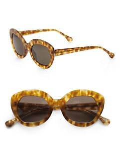 Elizabeth and James - Taylor Plastic Cat's-Eye Sunglasses