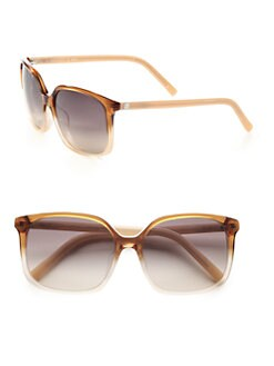 Fendi - Square Plastic Sunglasses