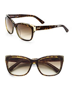 Fendi - Wayfarer-Inspired Classic Cat's-Eye Sunglasses