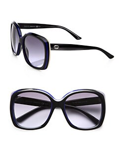 Gucci - Retro Multi-Layer Square Acetate Sunglasses