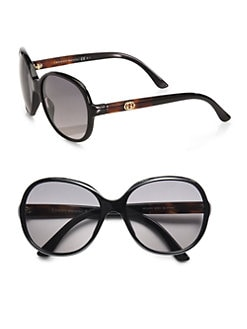 Gucci - Oversized Round Plastic Sunglasses