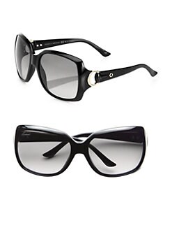 Gucci - Oversize Square Plastic Sunglasses