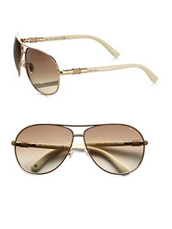 Jimmy Choo - Waldes Aviator Sunglasses