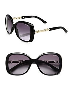 Jimmy Choo - Wileys Oversized Square Sunglasses