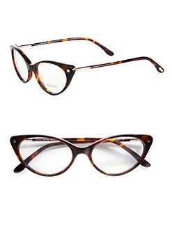 Tom Ford Eyewear - Modern Cat's-Eye Plastic Eyeglasses
