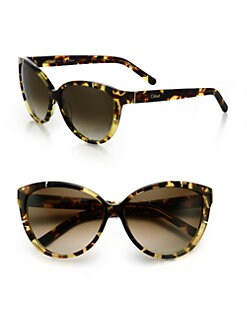 Chloe - Modified Cat's-Eye Sunglasses