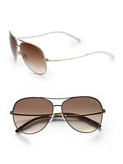 Jimmy Choo - Mali Aviator Sunglasses