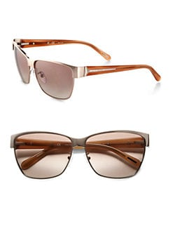 Givenchy - Modified Metal Wayfarer Sunglasses