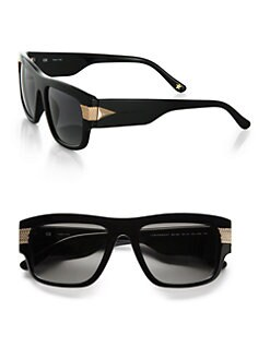 Givenchy - Modified Metal-Accented Resin Square Wayfarers