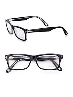 Tom Ford Eyewear - Rectangular Plastic Eyeglasses