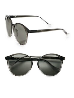 The Row - Round Acetate Sunglasses