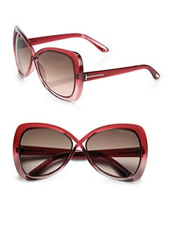 Tom Ford Eyewear - Jade Crossover Injected Square Sunglasses