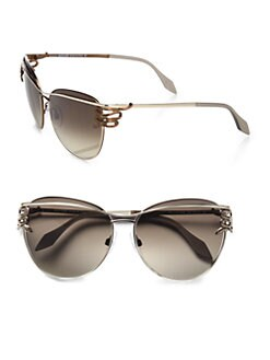 Roberto Cavalli - Bandos Serpent Round Sunglasses