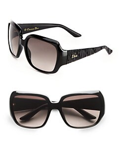 Dior - Texture Accented Glam Plastic Sunglasses
