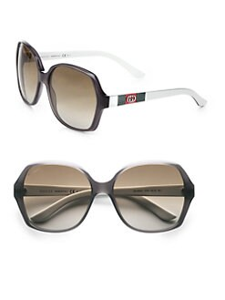 Gucci - Glam Stripe Sunglasses