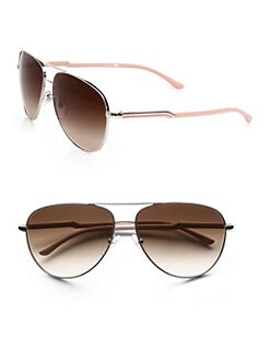Stella McCartney - Metal Aviator Sunglasses