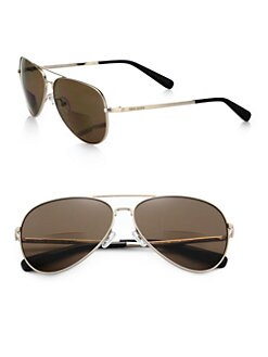 Bobbi Brown - The Tribes Metal Aviator Sunglasses