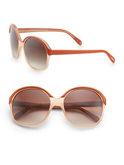 Oliver Peoples - Casandra Oversized Round Sunglasses