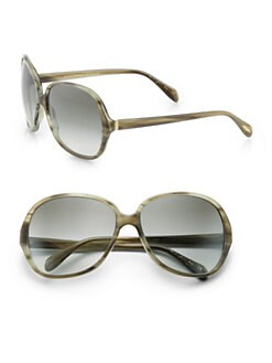 Oliver Peoples - Aerin Oversized Round Sunglasses