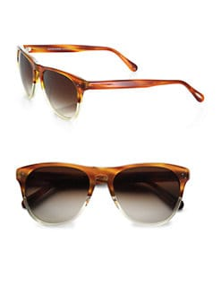 Oliver Peoples - Daddy B 58 Square Plastic Sunglasses