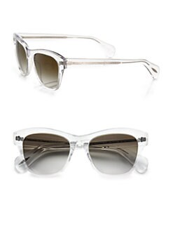 Oliver Peoples - Sofee Square Plastic Sunglasses