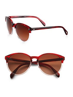 Oliver Peoples - Retro-Inspired Round Plastic Sunglasses