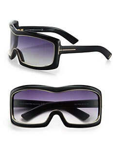 Tom Ford Eyewear - Olga Square Shield Sunglasses