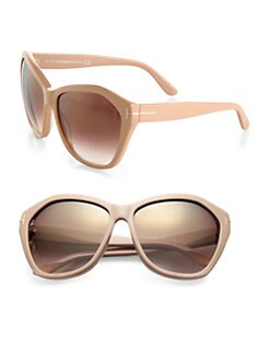 Tom Ford Eyewear - Oversized Round Resin Sunglasses