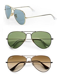Ray-Ban - Original Aviator Sunglasses/Gold
