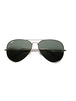 Ray-Ban - Original Gold Aviator Sunglasses