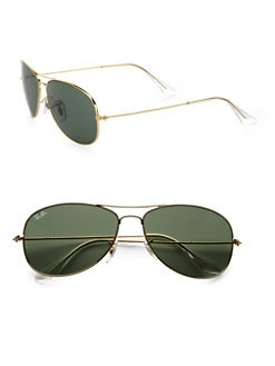 Ray-Ban - Cockpit Classic Aviator Sunglasses