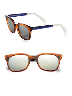 Sheriff & Cherry - Wayfarer Transparent Square Sunglasses
