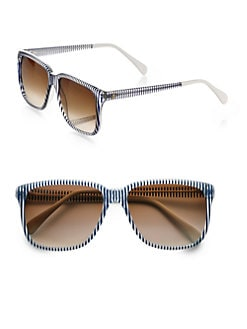 Sheriff & Cherry - Oversized Square Sunglasses