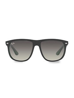 Ray-Ban - Flattop Square Boyfriend Sunglasses