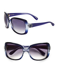 Marc by Marc Jacobs - Oversized Glam Fade Plastic Sunglasses
