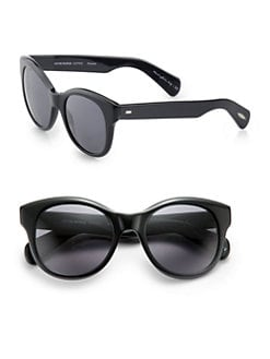 Oliver Peoples - Jacey  Acetate Round Sunglasses