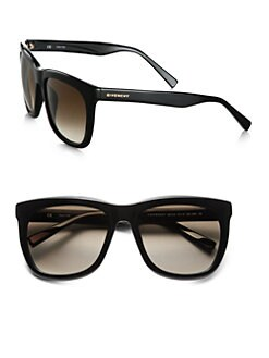 Givenchy - Large Modified Square Resin Sunglasses