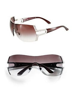 BVLGARI - Parentesi Shield Sunglasses
