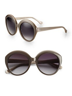 Elizabeth and James - Francis Round Acetate Sunglasses