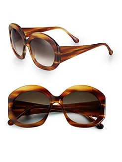 Elizabeth and James - Fenway Round Acetate Sunglasses
