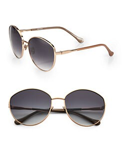Elizabeth and James - Irving Round Metal Sunglasses