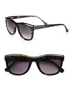 Elizabeth and James - Harrington Wayfarer Tortoiseshell Acetate Sunglasses