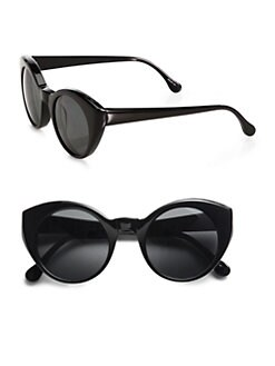Elizabeth and James - Carroll Bulky Exaggerated Cat's-Eye Sunglasses