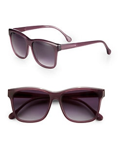Elizabeth and James - Park Wayfarer Acetate Square Sunglasses
